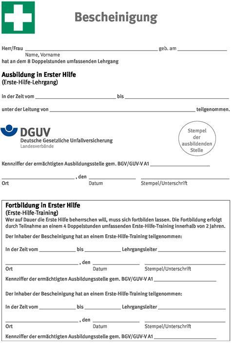 Rettungssanitäter zeugnis  umwelt-online-Demo: Archivdatei - BGI/GUV-I 509 / DGUV Information ...